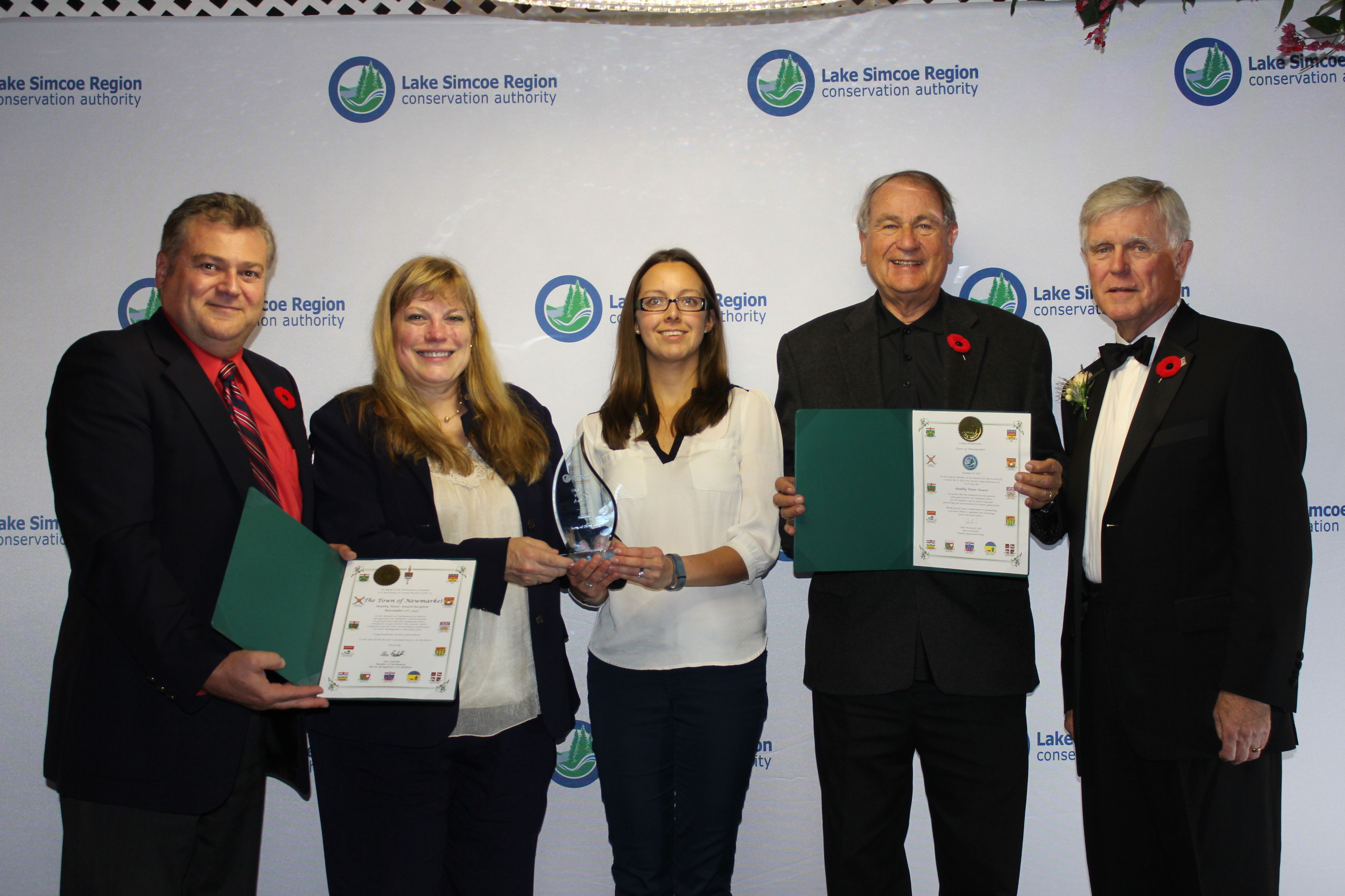 Healthy Water Award - Town of Newmarket