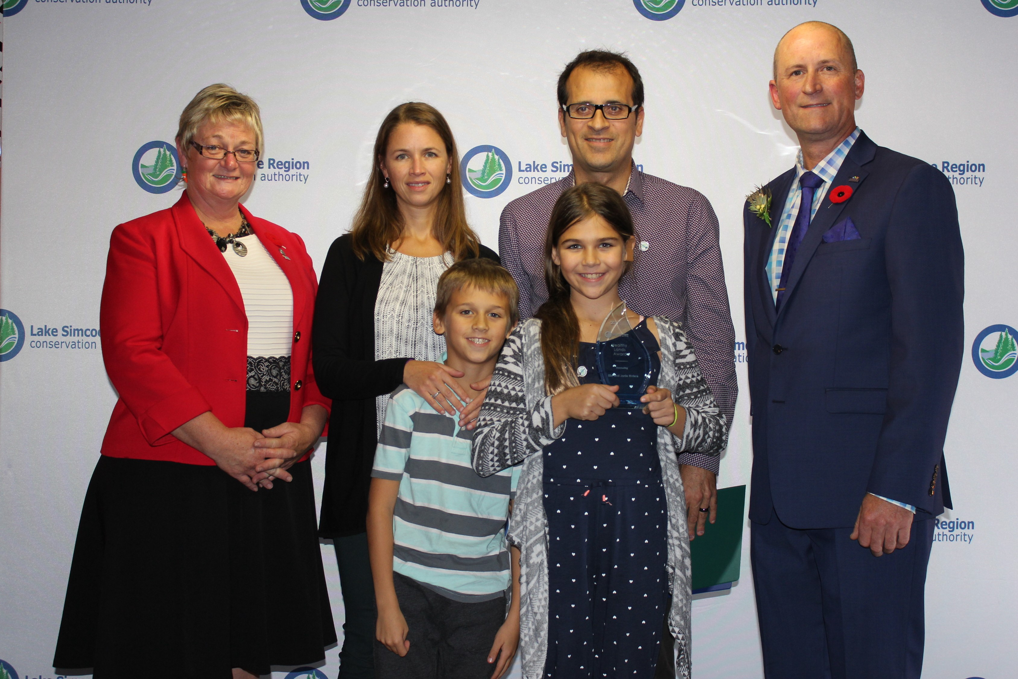 Healthy Lands Award - Riviere Family