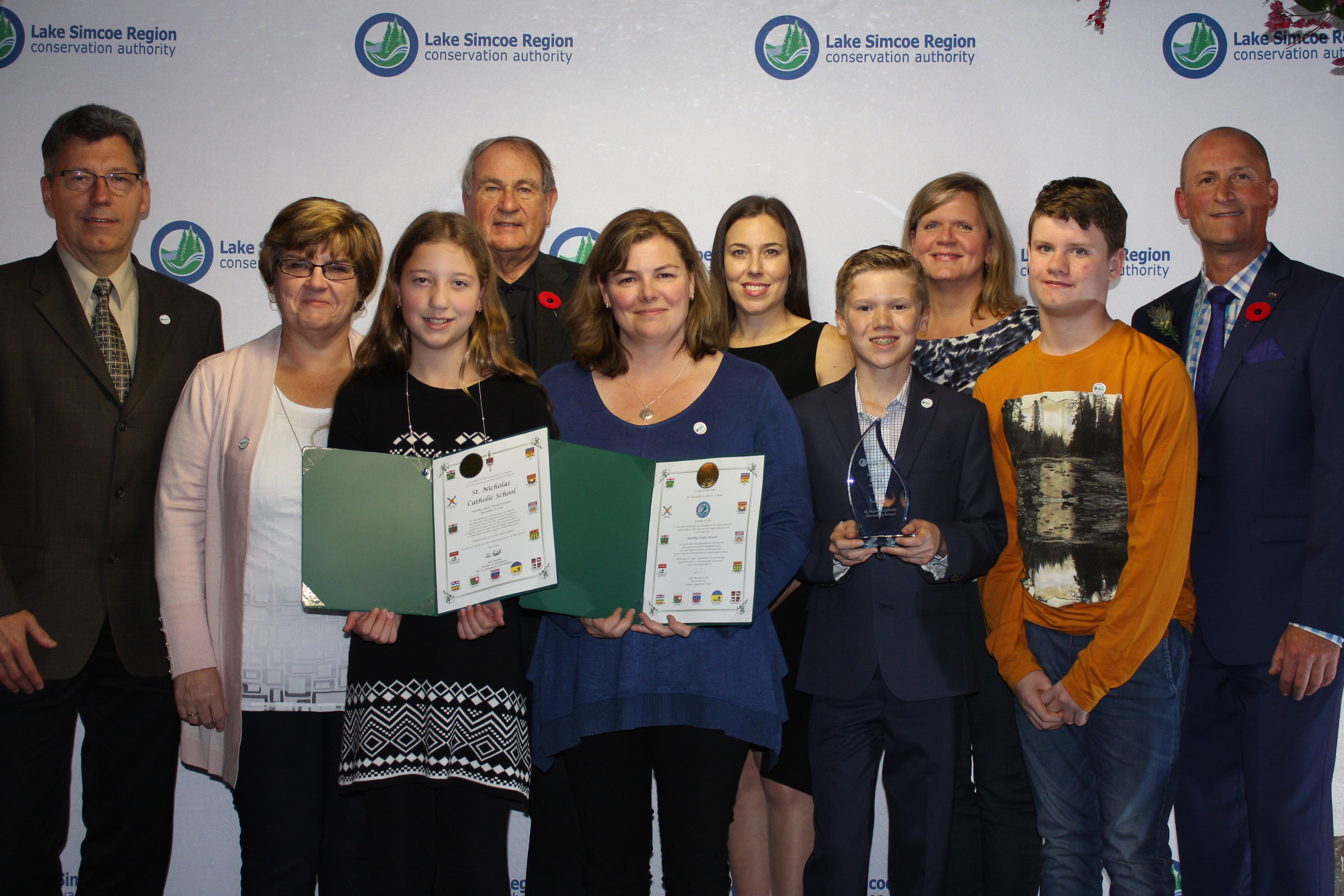 Healthy Lands Award - St. Nicholas Catholic School