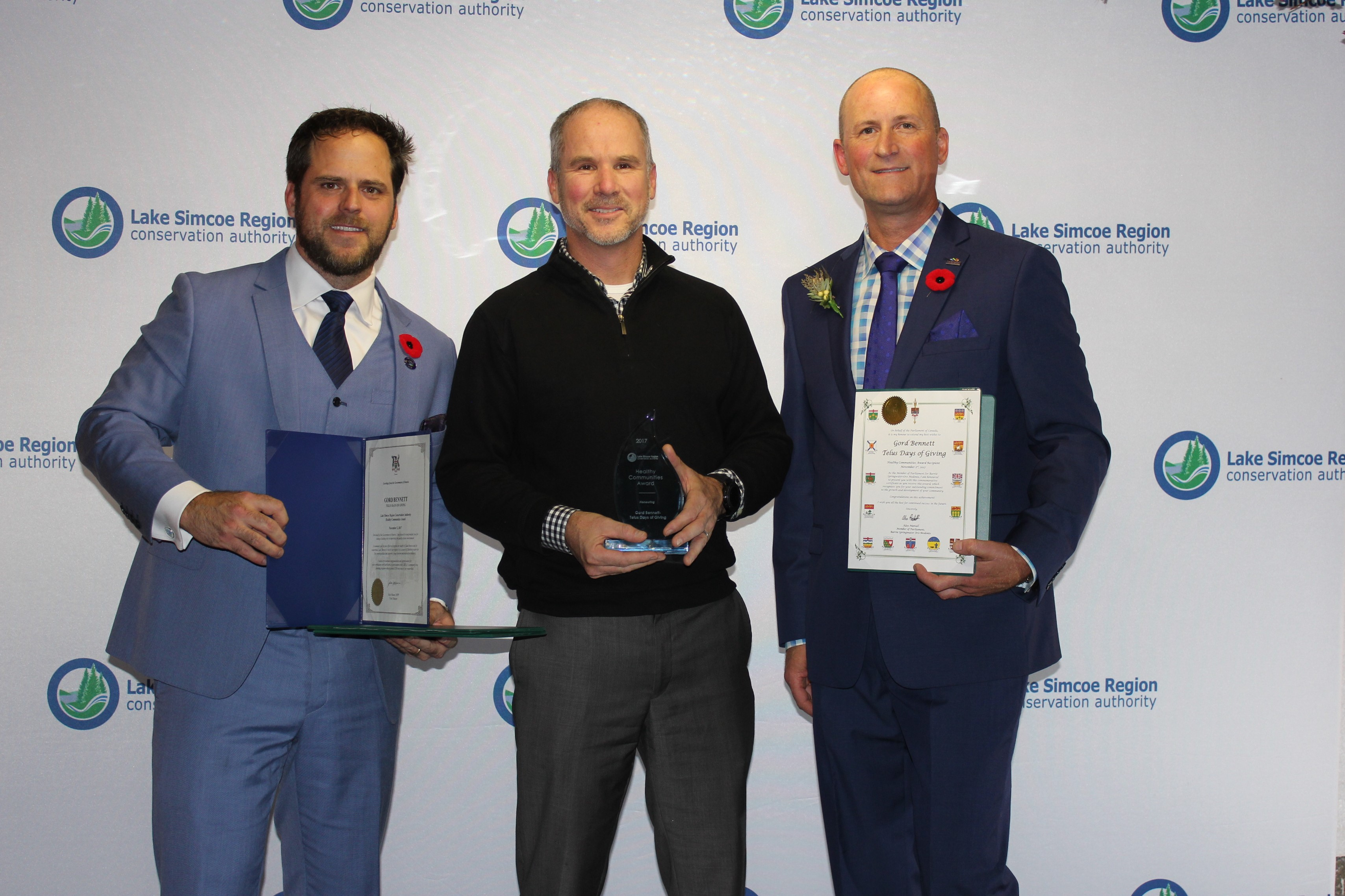 Healthy Communities Award - Gord Bennett
