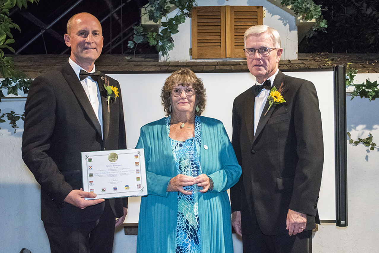 Sylvia Bowman - George R. Richardson Conservation Award of Honour