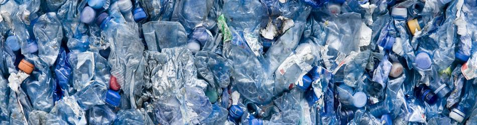 A photo of plastic waste.
