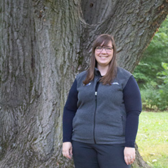 A photo of outreach education Caasandra Connell.