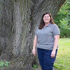 A photo of Outreach Coordinator Dana Eldon.