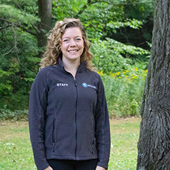 A photo of outdoor educator Katie Biddie