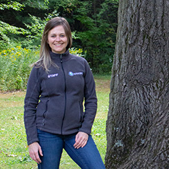 A photograph of Nicole Hamley, Manager of Education.