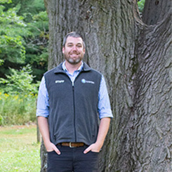 A photo of senior outreach educator Trevor Standford.